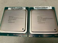 Matched pair Intel Xeon E5-2650 V2 8-core 2.60GHZ SR1A8 LGA2011 CPU processors