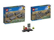 LEGO® City Eisenbahn Set 60205 + Set 60238  + 60197 Bahnhof Bahnsteig