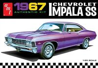 AMT 1967 Chevy Impala SS 1/25 scale plastic model car kit new 981