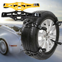 4PCS Anti-slip Winter Car Truck SUV Ice Snow Tire Chain Emergency Tool Easy Use