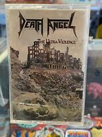 Death Angel The Ultra-Violence cassette tape Enigma 1987 [thrash metal]