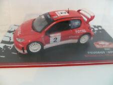 "PEUGEOT 206 WRC N°2 R.BURNS : MONTE CARLO de 2003 ~  OCCASION "" RARE """