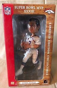 Forever Collectibles John Elway Super Bowl XXXIII MVP Bobblehead NEW NIB