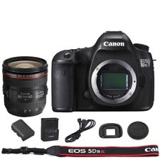 Canon EOS 5DSR / 5DS R DSLR Camera Body with EF 24-70mm f/4L IS USM Lens