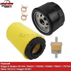 Air Filter Oil Filter for John Deere E130 22-HP V-twin 42-in riding lawn mower