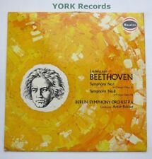 RM 198 - BEETHOVEN - Symphonies No 1 & 8 ROTHER Berlin Symphony O - Ex LP Record