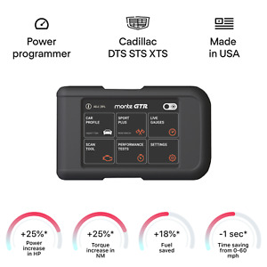 Cadillac DTS STS XTS smart tuning chip power programmer performance race tuner