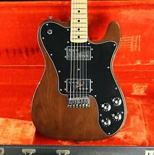 1977 Fender Telecaster Deluxe Mocha Brown Wide-Range Humbuckers! 100% Original w