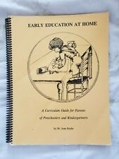 Early Education at Home: Curriculum Guide for Parents of Preschool & Kindergarte