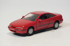 Gama 1:43 Opel Calibra A Coupé 2.0 16V C20XE, Rouge magma, Maquette de voiture
