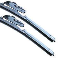 """ASH Front Aero Twin Windscreen Wiper Blades FITS 18"""" + 18"""""""
