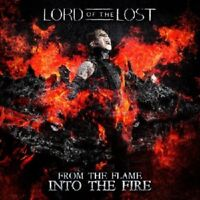 LORD OF THE LOST - FROM THE FLAME INTO THE FIRE/DELUXE ED. 2 CD NEU