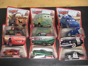 Lot of 10 Different Disney Pixar Cars Desert Series 1st Release