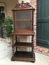 Whatnot Collectors Shelving 100% Original Other Antique Furniture Edwardian (1901-1910) Antique Edwardian Mahogany Wall Mounted Shelves