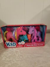 Brand New Kid Connection Style My Hair Ponies Set of 4 Figures Toy for Ages 3+