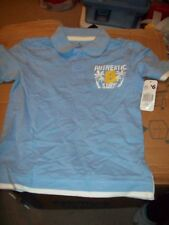 BOYS DRESS SHIRT SIZE 4-5 LIGHT BLUE WITH AUTHENTIC SURF NUMBER 8 ON FRONT