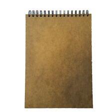 sketchbook pad A4 40 page 170gsm acid free cartridge paper hardback landscape