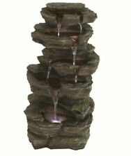 Aqua Creations PWFG1845 Solar Slate Falls Water Feature