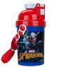Spider-Man Drinking Bottle Pop Up Plastic School Water Drinks Kids Lunch Childs