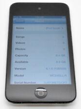 APPLE IPOD 4TH BLACK 8 GB GEN A1367 MC540LL/A