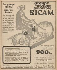 Y9003 Gruppo Motore per bici SICAM - Pubblicità d'epoca - 1921 Old advertising
