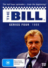 THE BILL - SERIES 4 (7 DVD SET - LIMITED EDITION) BRAND NEW!!! SEALED!!!