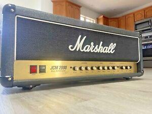 2003 Marshall JCM 2000 DSL 50 Watt All Tube Head! Made In England! NO RESERVE!