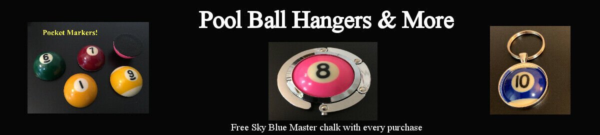 Pool Ball Hangers & More