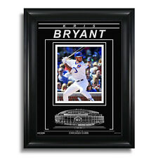 Kris Bryant Chicago Cubs Engraved Framed 8x10 Photo - Action Hit