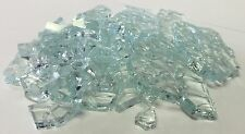 """2 Lbs. Broken Tempered Glass for Craft and Art Projects - Clear, 1/4"""" Thick"""