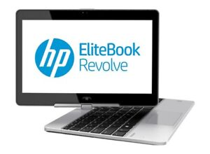 HP EliteBook Revolve 810 i7 4600u 2.10Ghz 8Gb 256Gb Touchscreen Win 10 LTE 4G