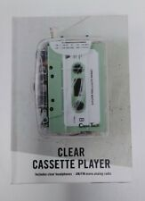 New listing Urban Outfitters Clear Cassette Player