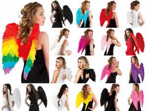 Angel Wings Carnival Fancy Dress Feather Wings New