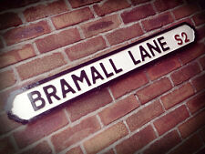 Bramall Lane Old Fashioned Football Street Sign Road Sign Sheffield United