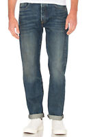 MENS LEVIS 501 ORIGINAL FIT BUTTON FLY SELVEDGE JEANS ABOVE THE PINE 005012353