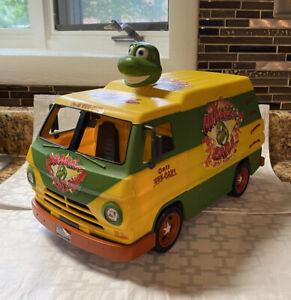 TMNT Cowabunga Carl Yellow Pizza Van Teenage Mutant Ninja Turtles 2006 Playmates