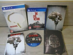 THE EVIL WITHIN LIMITED EDITION SONY PLAYSTATION 4 GAME *FREE UK POSTAGE*