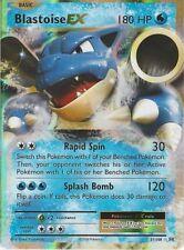 Blastoise EX Evolutions Pokémon Individual Cards