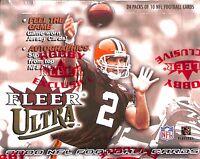2000 Fleer Ultra Football Sealed Hobby Box