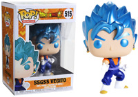 DRAGON BALL SUPER Metallic SSGSS VEGITO Funko Pop Vinyl New in Mint Box