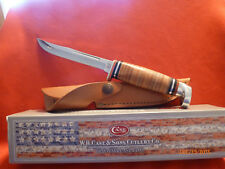 Case XX CA-381 Hunting Knife With Leather Sheath