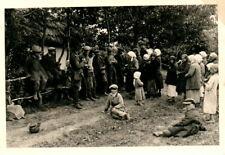 Foto, Wk2, erster Kontakt mit der russischen Bevölkerung (N)20912