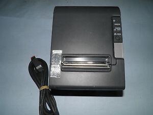 Epson TM-T88IV  M129H Thermal POS Receipt Printer Power Plus USB  w cable