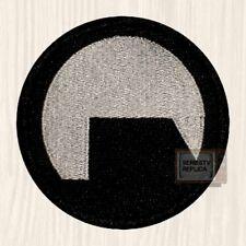 Black Mesa Logo Embroidered Big Patch Half-life Lambda Corp Gordon Black & White