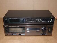 Vintage JVC AX-66 Integrated Stereo Receiver Amplifier SEA-RM20 Equalizer