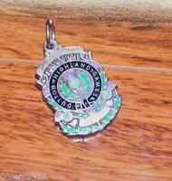 Vintage Dutton Highland Games Medal / Medallion! (Medal Only; No Ribbon) Metal
