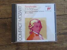 CD MOZART SYMPHONIES BRUNO WALTER