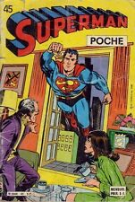 Comics Français  SAGEDITION  Superman Poche  N° 45  DE 1981