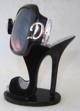 Black Stiletto Shoe Eyeglass Sunglasses Holder NEW