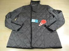 HOT AIR QUILTED M65 STYLE MILITARY JACKET NWT GRAY BLACK L LARGE